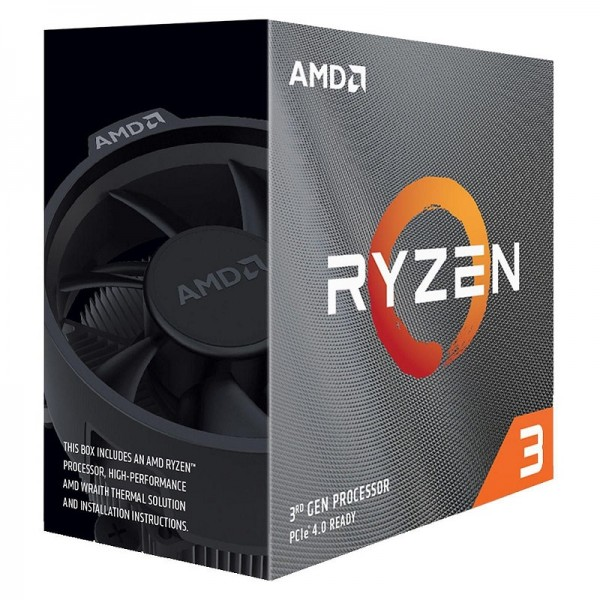 AMD Ryzen 3 3100 Wraith Stealth (3.6 GHz / 3.9 GHz) Processeurs AMD, Ultra Pc Gamer Maroc