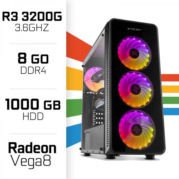 PC Gamer UltraPC STARTER I 3200G/1000GB/8GB/Radeon Vega8 PC Gamer Standard  , Ultra Pc Gamer Maroc