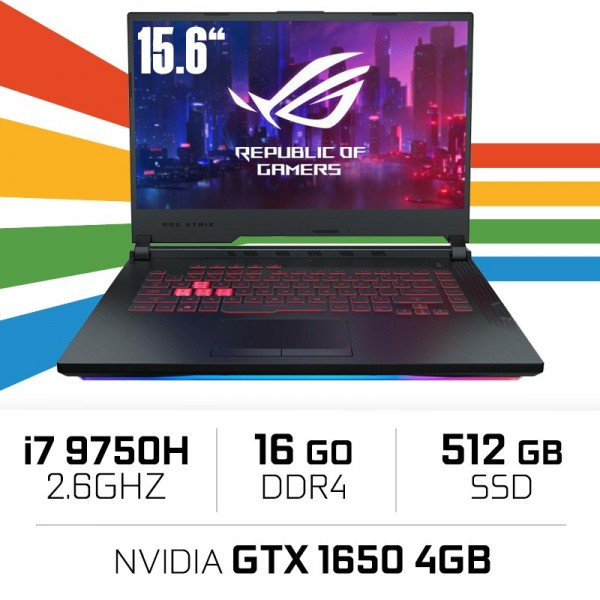ASUS ROG Strix G531GT-BQ165 Intel i7-9750H/16GB/512SSD/GTX1650 PC Portables Gamer ASUS, Ultra Pc Gamer Maroc