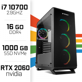 PC Gamer UltraPC i7 GEN10-I 10700/1TB SSD/16GB/RTX2060 PC Gamer Avancé UltraPC, Ultra Pc Gamer Maroc