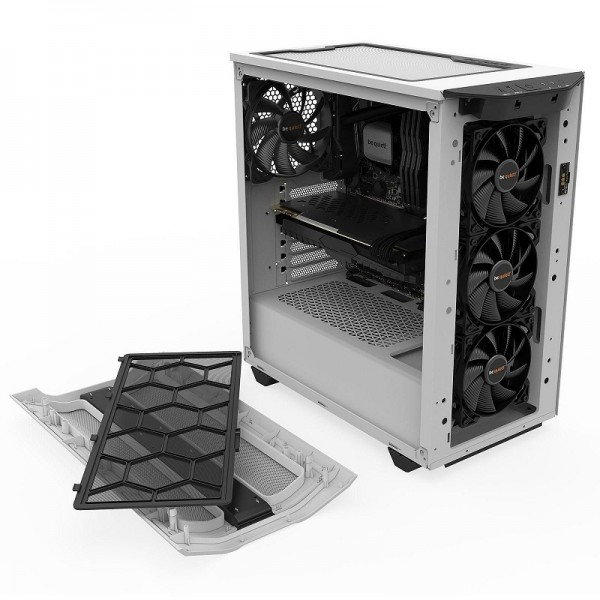 be quiet! Pure Base 500DX (Blanc) Boitiers PC be quiet!, Ultra Pc Gamer Maroc