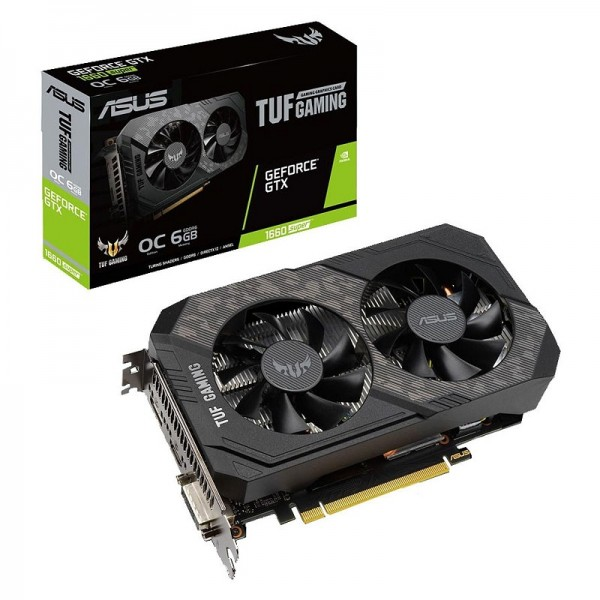 ASUS GeForce GTX 1660 SUPER TUF OC GAMING 6GB GDDR6 Cartes graphiques ASUS, Ultra Pc Gamer Maroc