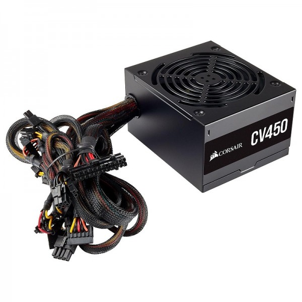 Corsair CV450 80PLUS Bronze 450W Alimentations PC Corsair, Ultra Pc Gamer Maroc