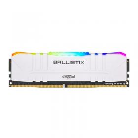 Crucial Ballistix White 16Go RGB DDR4 3000 MHz CL15 Mémoire vive PC Crucial, Ultra Pc Gamer Maroc