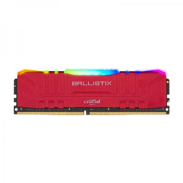 Crucial Ballistix Red 16Go RGB DDR4 3600 MHz CL16 Mémoire vive PC Crucial, Ultra Pc Gamer Maroc