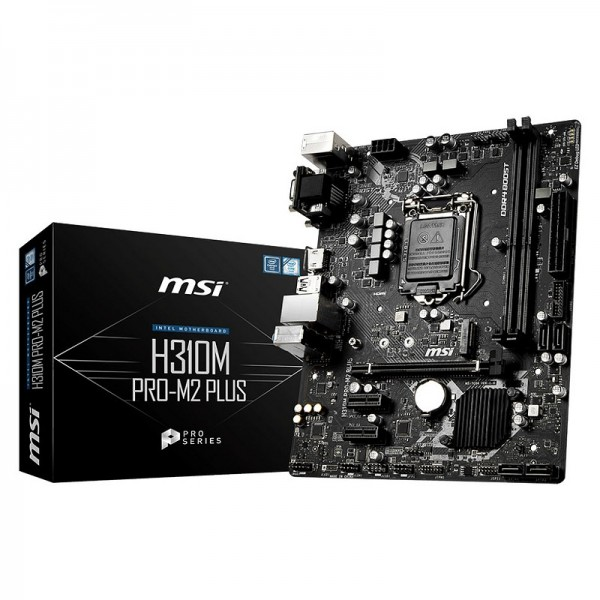 MSI H310M PRO-M2 PLUS Composants MSI, Ultra Pc Gamer Maroc