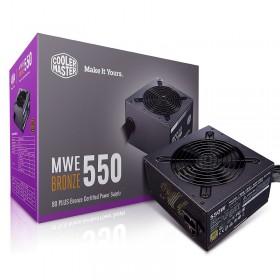 Cooler Master MWE 80PLUS Bronze 550W V2 Alimentations PC Cooler Master, Ultra Pc Gamer Maroc