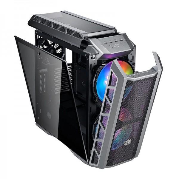 Cooler Master MasterCase H500P Gun Metal Grey ARGB Boitiers PC Cooler Master, Ultra Pc Gamer Maroc