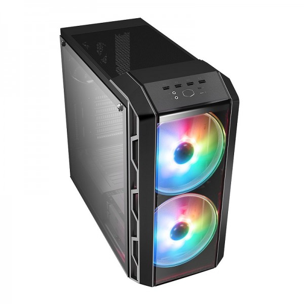 Cooler Master MasterCase H500 Gris ARGB Boitiers PC Cooler Master, Ultra Pc Gamer Maroc