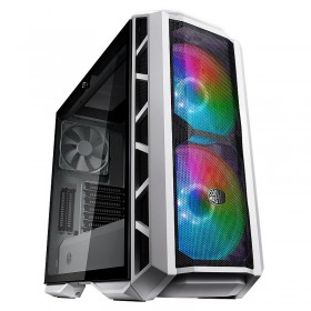 Cooler Master MasterCase H500P Mesh White ARGB Edition Boitiers PC Cooler Master, Ultra Pc Gamer Maroc