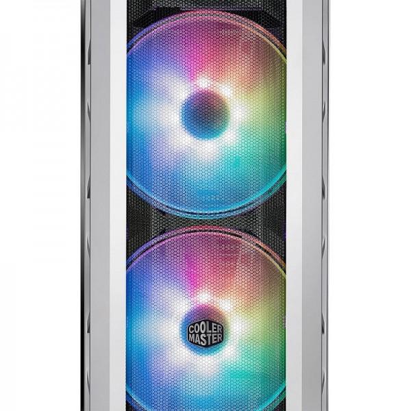 Cooler Master MasterCase H500P Mesh White ARGB Edition Boitiers PC Cooler Master, Ultra Pc Gamer Maroc