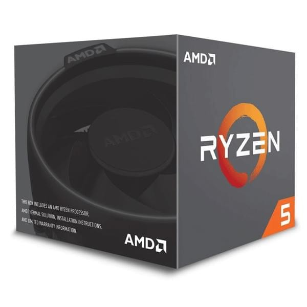 AMD Ryzen 5 1600 AF Wraith Stealth Edition (3.2 GHz / 3.6 Ghz) Processeurs AMD, Ultra Pc Gamer Maroc