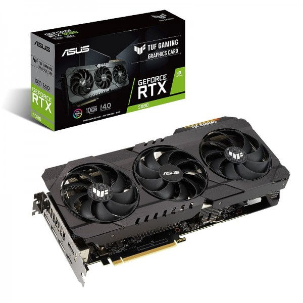 ASUS GeForce TUF RTX 3080 OC GAMING 10GB GDDR6X Cartes graphiques ASUS, Ultra Pc Gamer Maroc