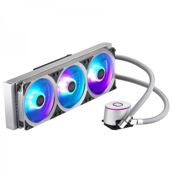 Cooler Master MasterLiquid ML360P Silver Edition Refroidissement Cooler Master, Ultra Pc Gamer Maroc