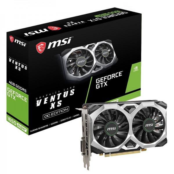 MSI GeForce GTX 1650 SUPER VENTUS XS OC 4GB GDDR6 Cartes graphiques MSI, Ultra Pc Gamer Maroc