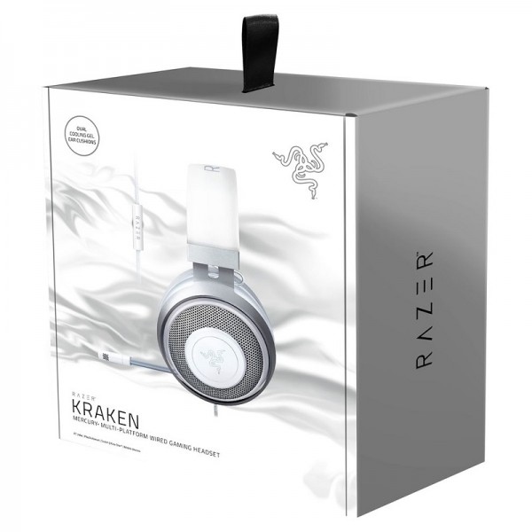 Razer Kraken (Mercury Edition) Casques Razer, Ultra Pc Gamer Maroc