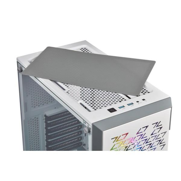 Corsair iCUE 220T RGB Airflow (Blanc) Boitiers PC Corsair, Ultra Pc Gamer Maroc