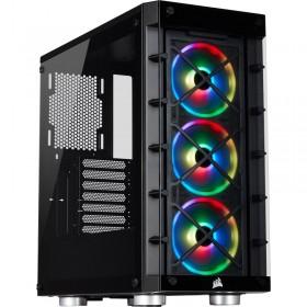 Corsair iCUE 465X RGB (Noir) Boitiers PC Corsair, Ultra Pc Gamer Maroc
