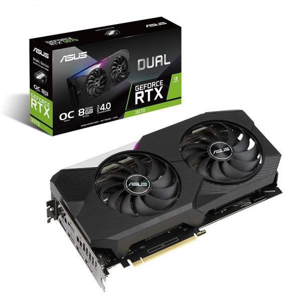 ASUS GeForce RTX Dual 3070 OC 8GB GDDR6 Cartes graphiques ASUS, Ultra Pc Gamer Maroc
