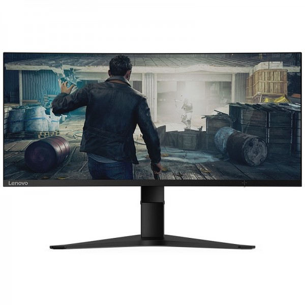"Lenovo G34w-10 34"" 144Hz Freesync Curved Moniteurs Lenovo, Ultra Pc Gamer Maroc"