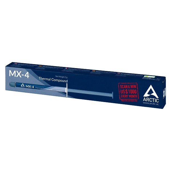Arctic MX-4 (4 grammes) Refroidissement Arctic, Ultra Pc Gamer Maroc