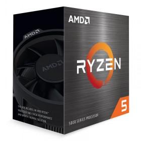 AMD Ryzen 5 5600X Wraith Stealth (3.7 GHz / 4.6 GHz) BOX Processeurs AMD, Ultra Pc Gamer Maroc