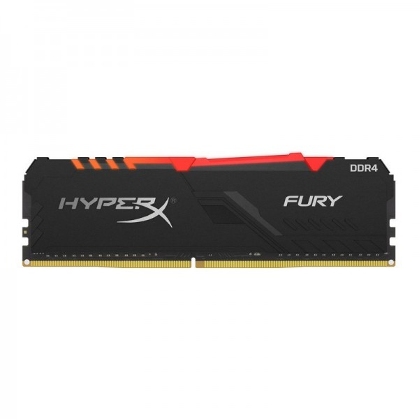 HyperX Fury RGB 16Go (2x 8Go) DDR4 3600 MHz CL17 Mémoire vive PC HyperX, Ultra Pc Gamer Maroc