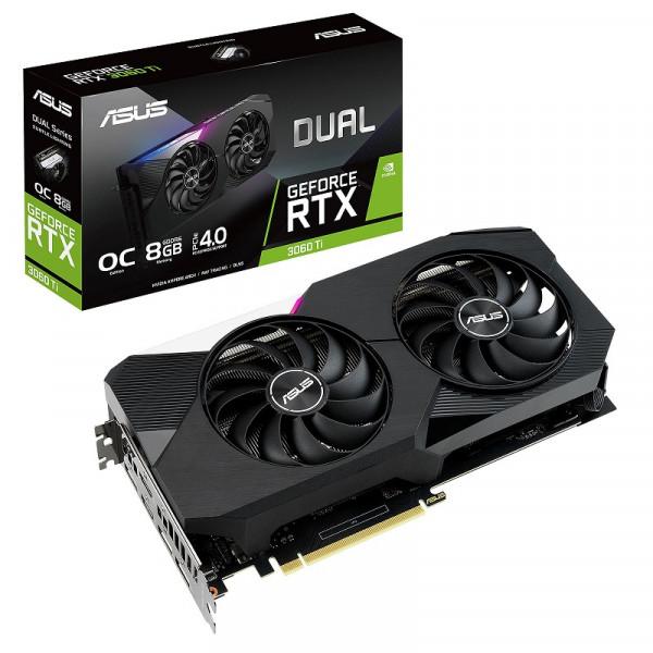 ASUS GeForce RTX Dual 3060 Ti OC 8GB GDDR6 Cartes graphiques ASUS, Ultra Pc Gamer Maroc