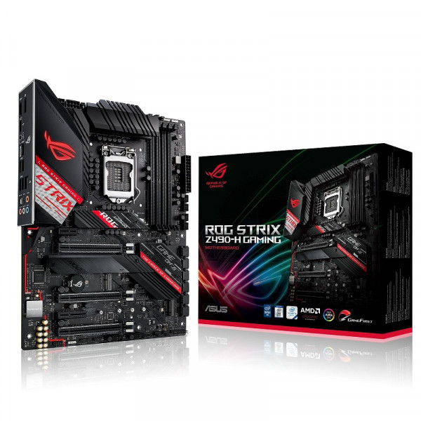 ASUS ROG STRIX Z490-H GAMING Cartes mères ASUS, Ultra Pc Gamer Maroc
