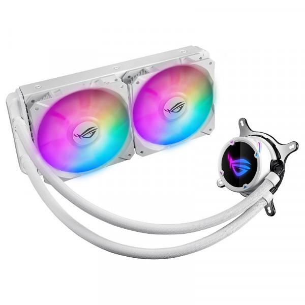 ASUS ROG Strix LC240 RGB White Edition Refroidissement ASUS, Ultra Pc Gamer Maroc