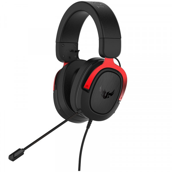 Asus TUF Gaming H3 (Rouge) Casques ASUS, Ultra Pc Gamer Maroc