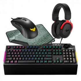 BUNDLE ASUS TUF Gaming K1 + M3 + P3 + H3 Kits claviers/souris Cooler Master, Ultra Pc Gamer Maroc