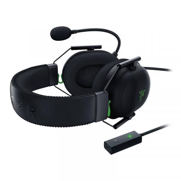 Razer Blackshark V2 + USB Mic Enhancer Casques Razer, Ultra Pc Gamer Maroc
