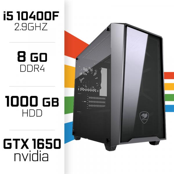 PC Gamer UltraPC i5 GEN10-I 10400F/1TB/8GB/GTX1650 PC Gamer Standard UltraPC, Ultra Pc Gamer Maroc