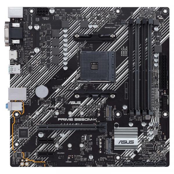 ASUS PRIME B550M-K Cartes mères ASUS, Ultra Pc Gamer Maroc