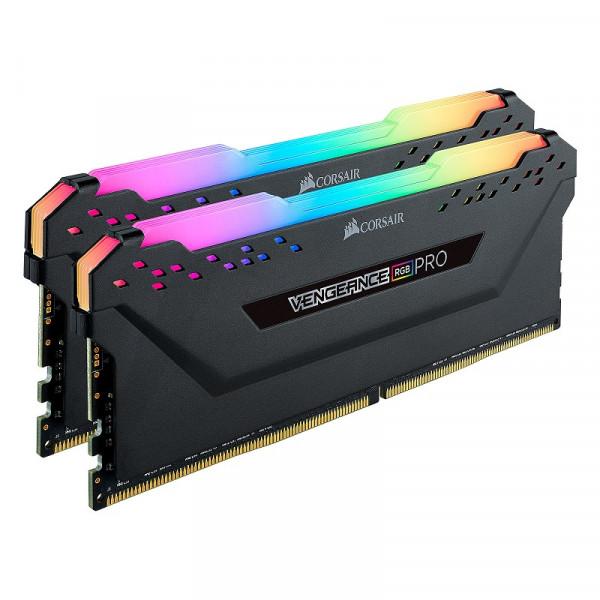 Corsair Vengeance RGB PRO Series 16Go (2x 8Go) DDR4 3600 MHz CL18 Mémoire vive PC Corsair, Ultra Pc Gamer Maroc