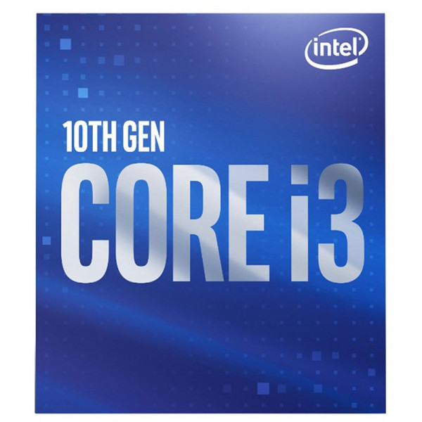 Intel Core i3 10100 (3.6 GHz / 4.3 GHz) Processeurs Intel, Ultra Pc Gamer Maroc