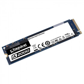 Kingston SSD A2000 1TB M.2 NVMe Disques SSD Kingston, Ultra Pc Gamer Maroc