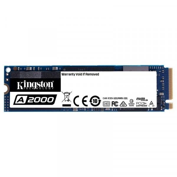 Kingston SSD A2000 1TB M.2 NVMe Disques SSD Kingston, Ultra Pc Gamer Maroc