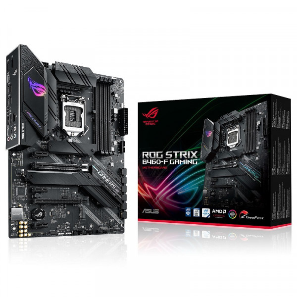 ASUS ROG STRIX B460-F GAMING Socket 1200 ASUS, Ultra Pc Gamer Maroc