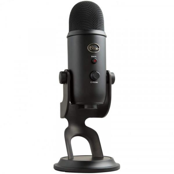 Blue Microphones Yeti Blackout Microphones Blue Microphones, Ultra Pc Gamer Maroc