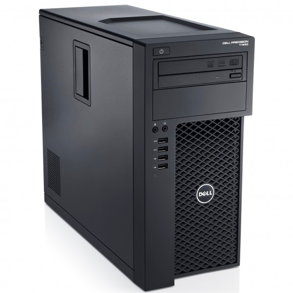 STATION DE TRAVAIL Dell Precision T1700 Workstation XEON E3-1226V3 + 16GB + SSD 240GB + HDD 500 GB + QUADRO K620 PC Professio...