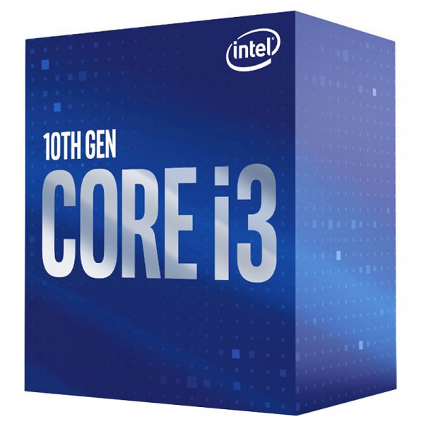 Intel Core i3 10100F (3.6 GHz / 4.3 GHz) Processeurs Intel, Ultra Pc Gamer Maroc