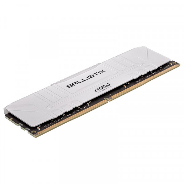 Crucial Ballistix White 16Go DDR4 3000 MHz CL15 Mémoire vive PC Crucial, Ultra Pc Gamer Maroc
