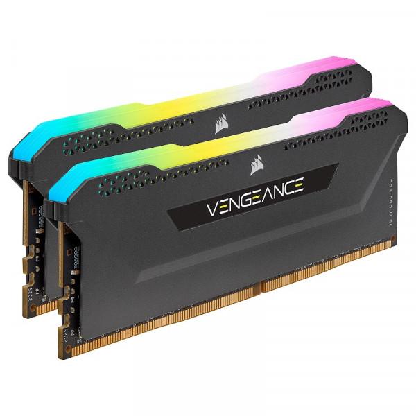 Corsair Vengeance RGB PRO SL Series Noir 16Go (2x 8Go) DDR4 3600 MHz CL18 Mémoire vive PC Corsair, Ultra Pc Gamer Maroc
