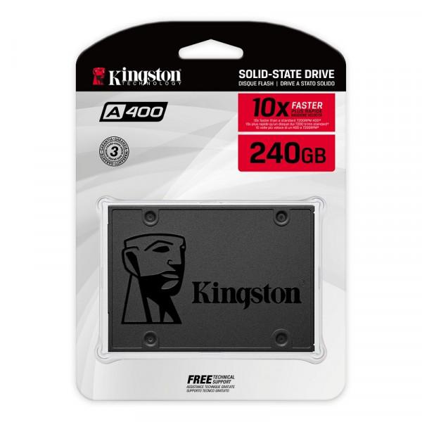Kingston SSD A400 1920 GB Disques durs et SSD Kingston, Ultra Pc Gamer Maroc