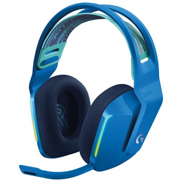 Logitech G733 Lightspeed (Bleu) Casques Logitech, Ultra Pc Gamer Maroc