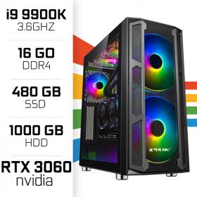 PC Gamer UltraPC i9 Overclock GEN9-I 9900K/1TB+480SSD/16GB/RTX3060 PC Gamer Avancé UltraPC, Ultra Pc Gamer Maroc