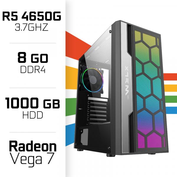 PC Gamer UltraPC STARTER PRO R5 4650G/1TB/8GB/Radeon Vega7 PC Gamer Standard , Ultra Pc Gamer Maroc