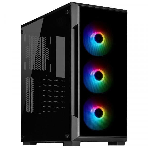 Corsair iCUE 220T RGB Tempered Glass (Noir) Boitiers PC Corsair, Ultra Pc Gamer Maroc
